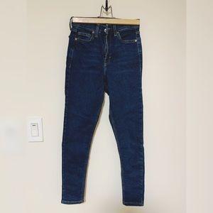 Topshop MOTO Jamie Jeans High Waist Skinny Jeans